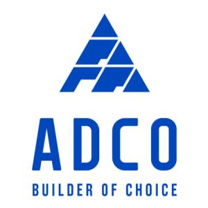 The ADCO logo.