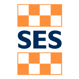 The SES logo.