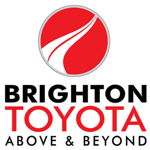 The Brighton Toyota logo.