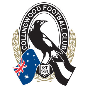 The Collingwood Football Club logo.
