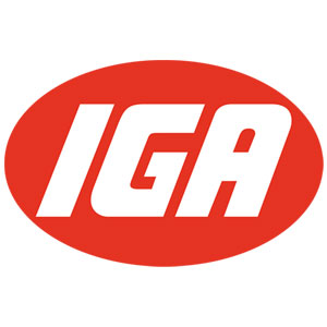 The IGA Supermarkets logo.