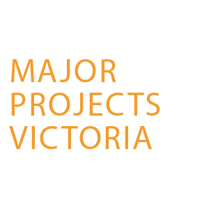 The Major Projects Victoria logo,