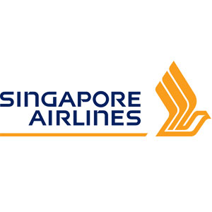 The Singapore Airlines logo.
