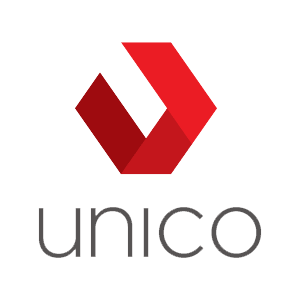 The Unico logo.